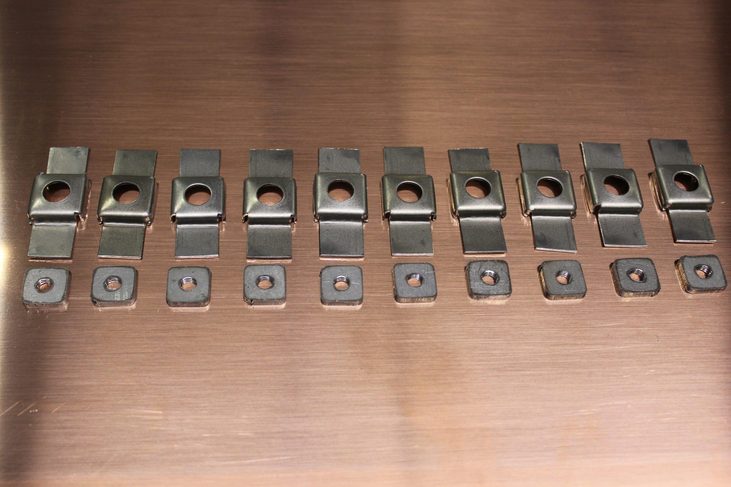 1 4 215 28 Cage Nuts Fit Xk 120 140 150 Jaguars Pro