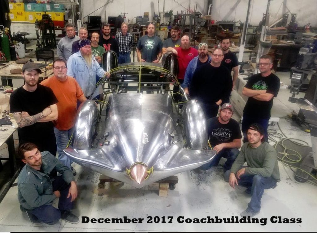 Metal shaping / Coachbuilding Apprenticeship program