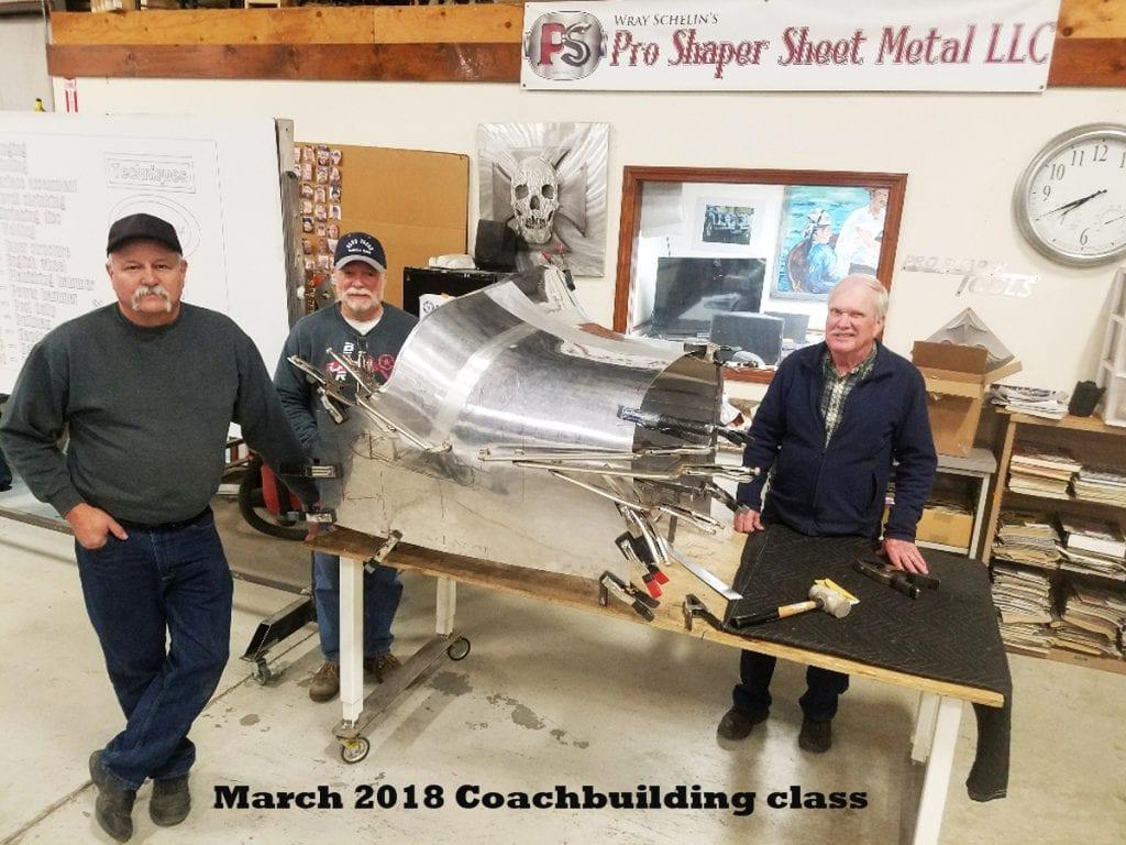 Metal Shaping Class
