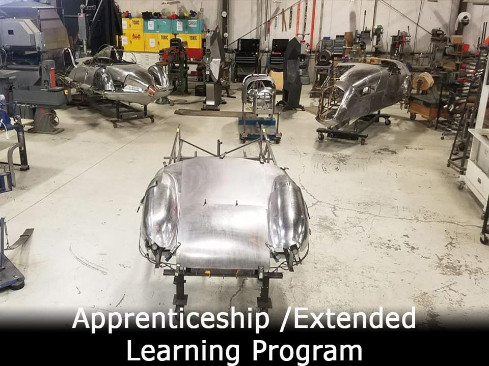 Apprenticeship Metal Shaping Class