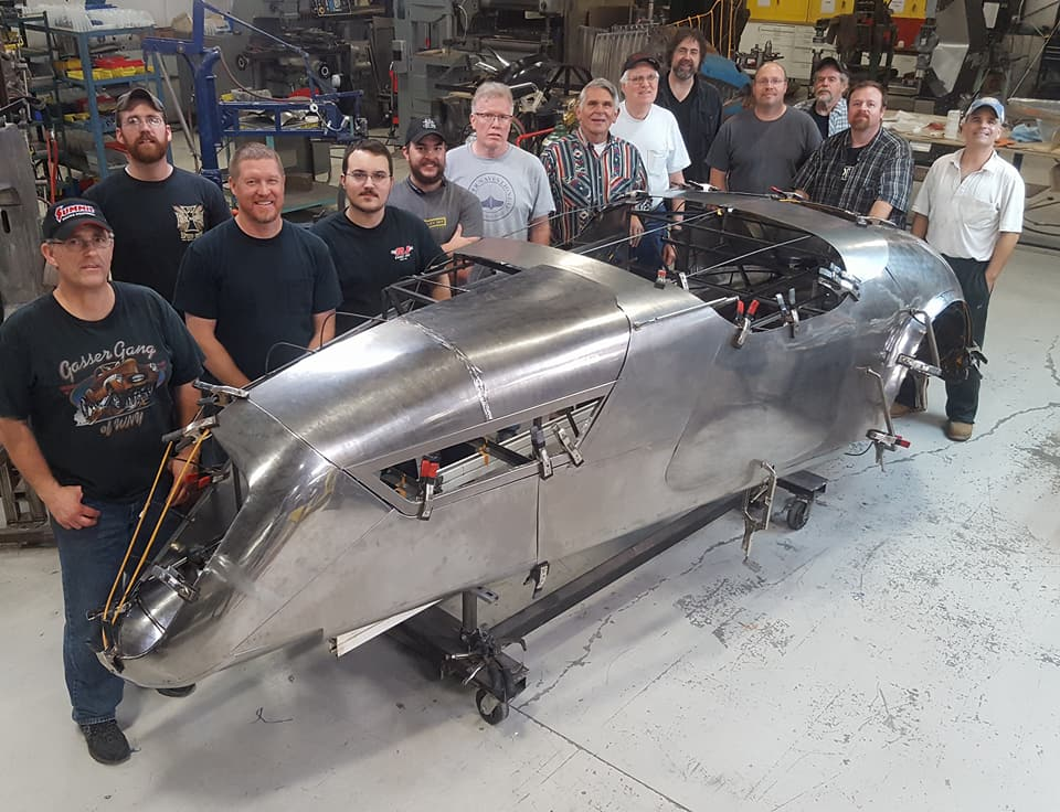 coachbuilding / Metal Shaping finishing class