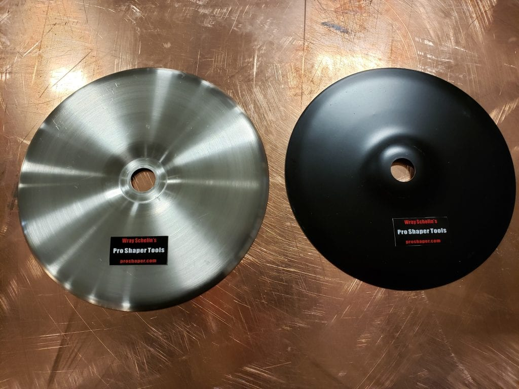 Shrinking Disc and Backing Pad