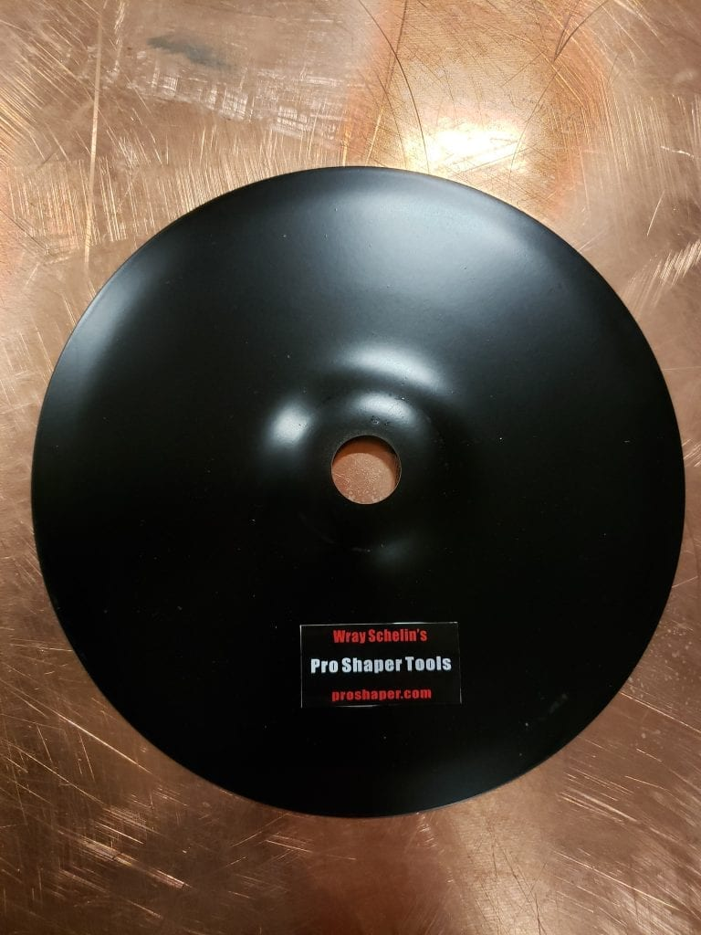 Shrinking Disc Backing Pad